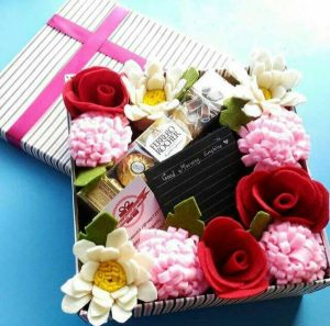 flower box flanel